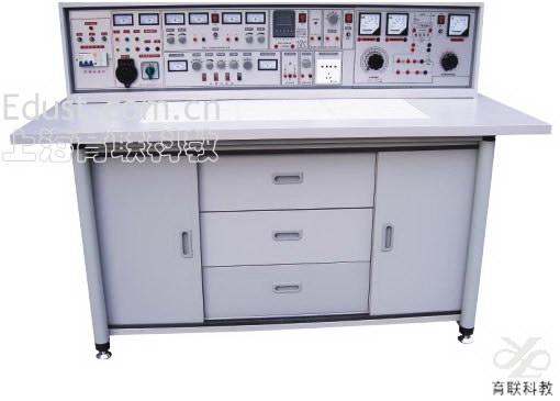 实训电路中涵盖开关,音频,信号发生,计数,译码,显示,测量,控制等内容.