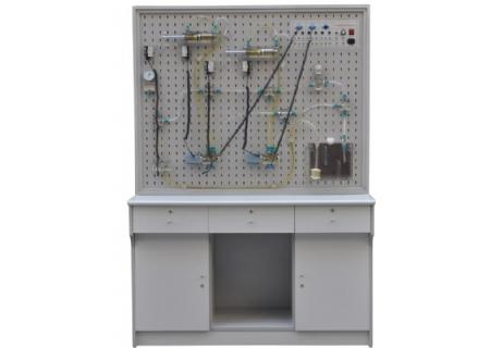 透明液压传动实训装置-上海育联科教设备公司图片