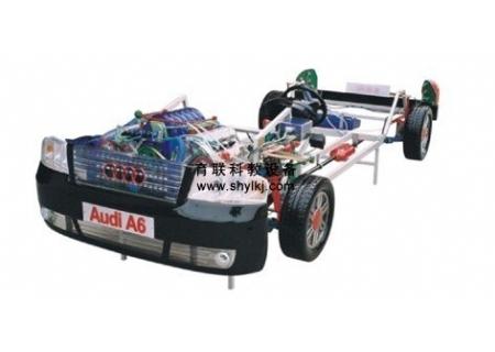 奥迪教学视频_奥迪A6型透明轿车整台模型-上海育联科教设备公司