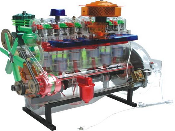 解放ca141型离合器总成模型   解放汽车各部件教学模型高清图片