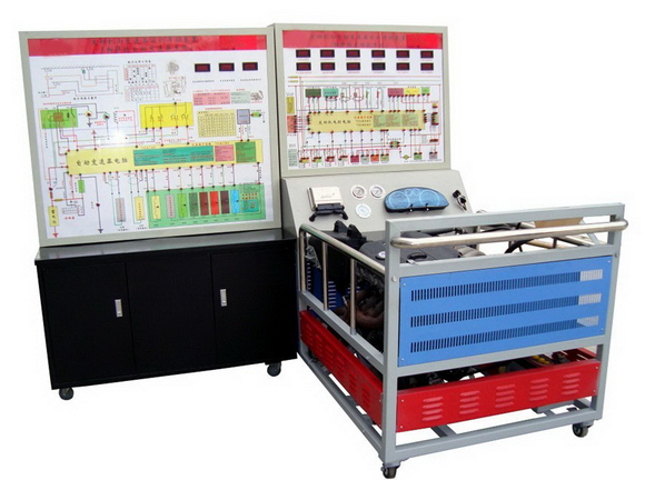 汽车发动机与变速箱实训考核装置(大众桑塔纳3000)