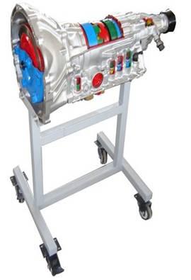 后驱自动变速器解剖教具      丰田汽车a340e自动变速器实物材料,剖
